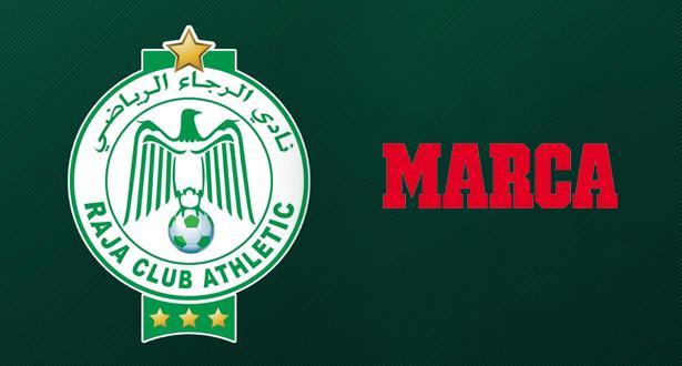 """شعار فريق الرجاء الرياضي يرفرف عاليا في استفتاء """"ماركا"""" الإسبانية +لائحة الترتيب النهائي"""
