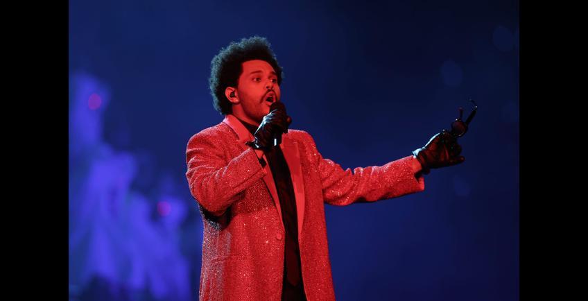 The Weeknd met le feu au Super Bowl 2021